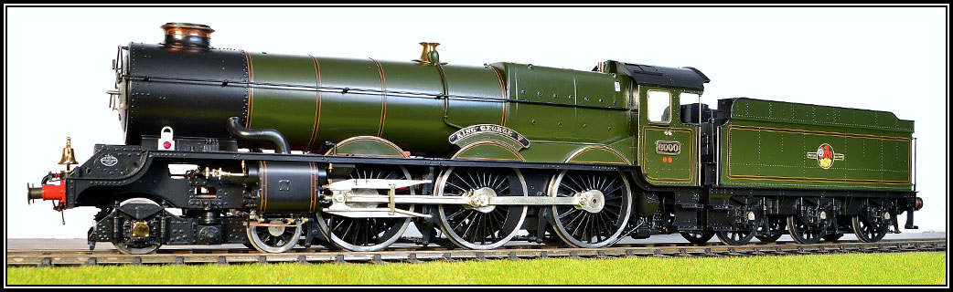 GWR King Class Locomotive