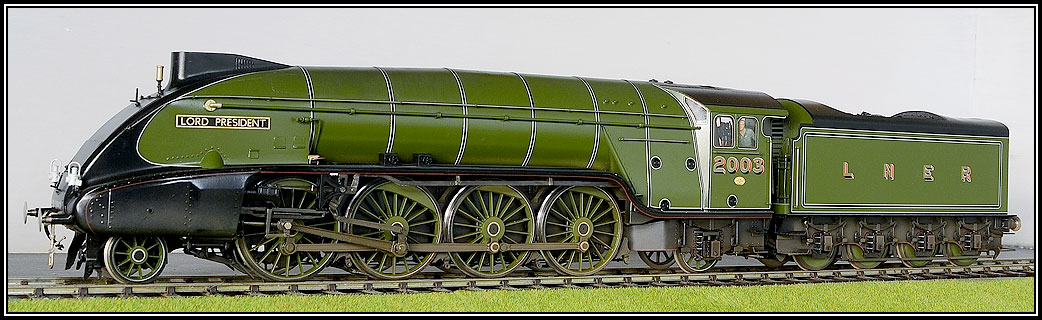 LNER Streamlined P2 Class Locomotives
