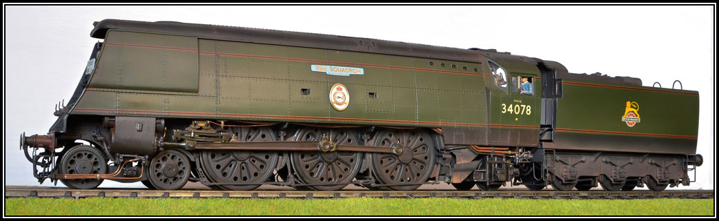 SR Locomotives Battle of Britain Class
